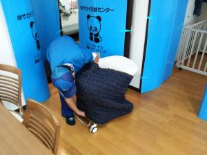 家具、家電は専用の梱包資材で引越し業者が梱包してくれるので、運搬作業はとても安心